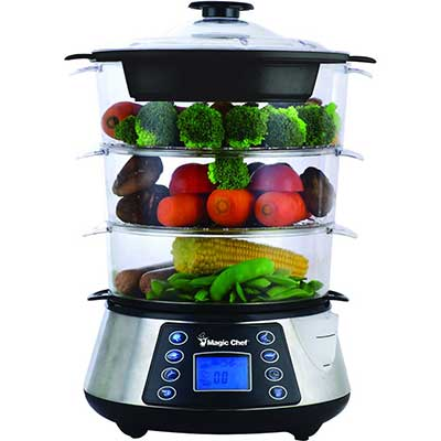 Magic Chef MCSFS12ST 3-Tier Food Steamer