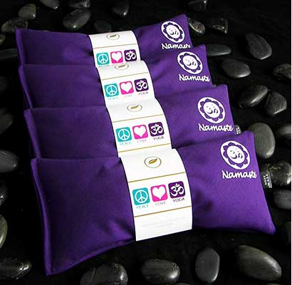 Happy Wraps Namaste Yoga Lavender Eye Pillows