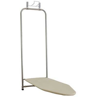 Households Essentials 144222 Over The Door Small Ironing Board