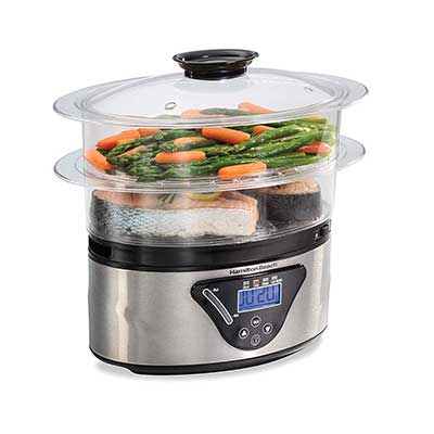 Hamilton Beach 5.5 Quart Digital Food Steamer