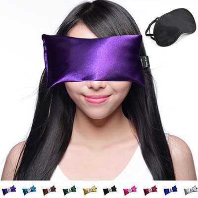 Happy Wraps Lavender Hot Cold Aromatherapy Eye Pillows