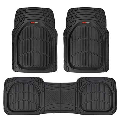 Motor Trend MT-923-BK FlexTough Rubber Mats