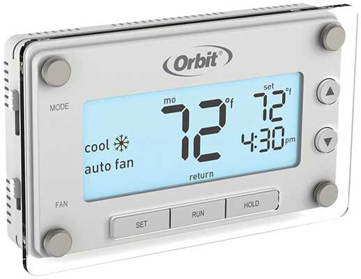 Orbitn 83521 Clear Comfort Programmable Thermostat