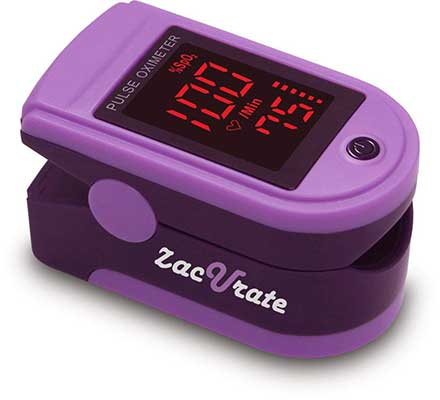 Zacurate Pro Series 500DL Blood Oxygen Saturation Monitor