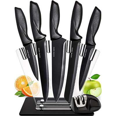 Home Hero Stainless Steel Chef Knife Set Knives Kitchen Set