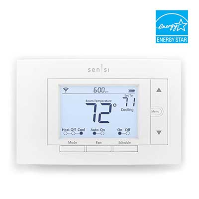 Emerson Sensi Wi-Fi Smart Thermostat for Smart Home DIY