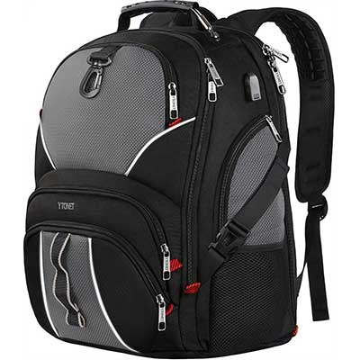Ytonet Extra Large Men College Laptop backpack
