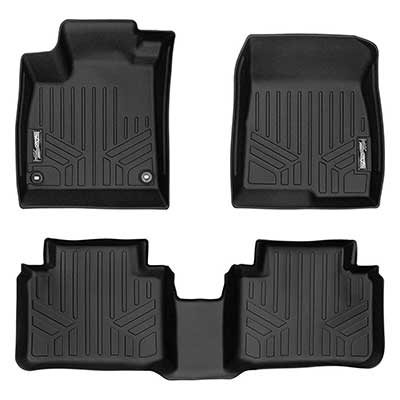 MAXLINER Custom Fit Floor Mats 2 Row Liner Set
