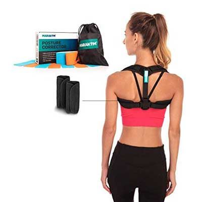 MARAKYM Adjustable Clavicle Brace Pose Corrector