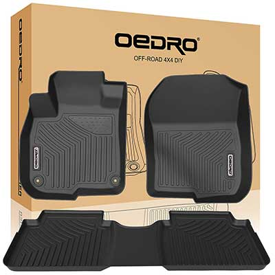 oEdRo Floor Mats TPE All-Weather Guard