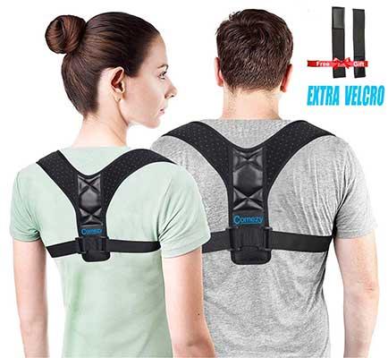 Comezy Back Posture Corrector Unisex Clavicle Back Brace