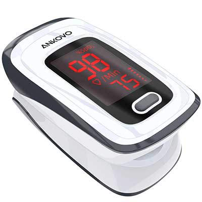 ANKOVO Oxygen Saturation Monitor Finger Oximeter