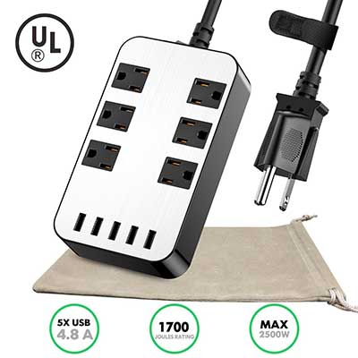 Power Strip – 6 Outlet Surge Protector