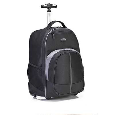 Targus Compact Rolling Business and Travel Commuter Backpack