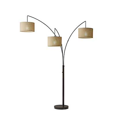 Adesso Trinity Arc Floor Lamp