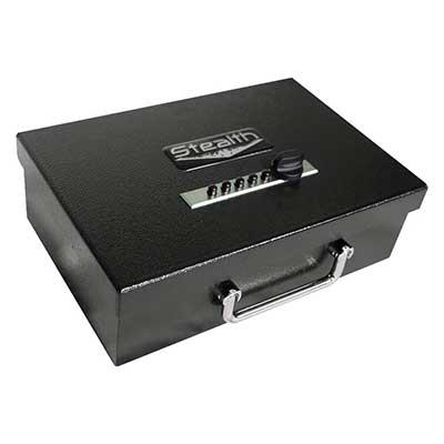 STEALTH Portable Handgun Safe PS1 208EZ Pistol Box