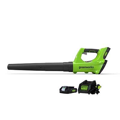 Greenworks 24V Cordless Jet 2.0Ah Leaf Blower
