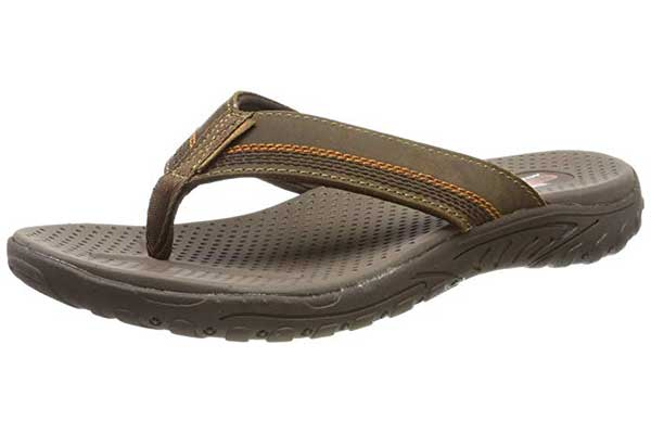 Skechers Relaxed Fit-Reggae-Cobano Flip-Flop