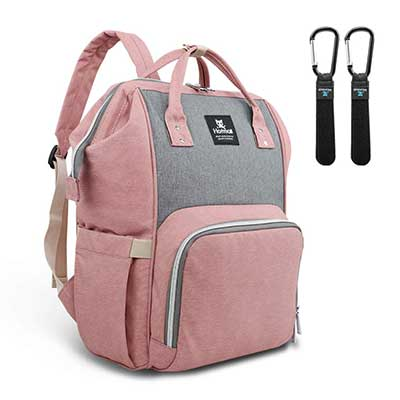 Hafmall Diaper Nappy Waterproof Bag Backpack