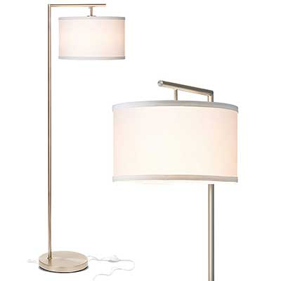 Brightech Montage Modern Tall Pole LED Floor Lamp