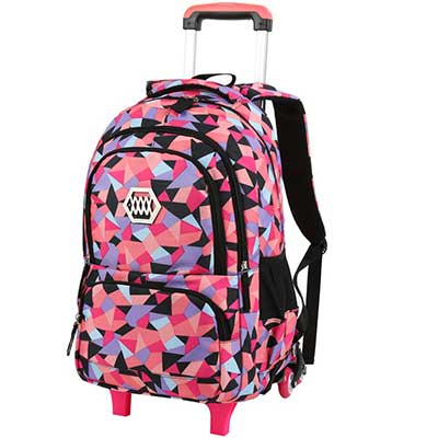 VBG VBIGER Rolling Backpack for Girls