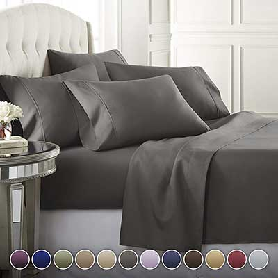 6-Piece Hotel Luxury Soft Premium Bed Sheets