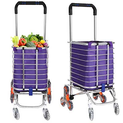 Folding Shopping Cart Grocery Utility Lightweight
