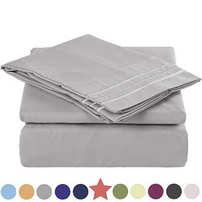 TEKAMON Premium 3 Piece Bed Sheet Set