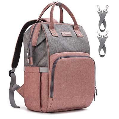 Upsimples Mom Maternity Diaper Bag with USB Port