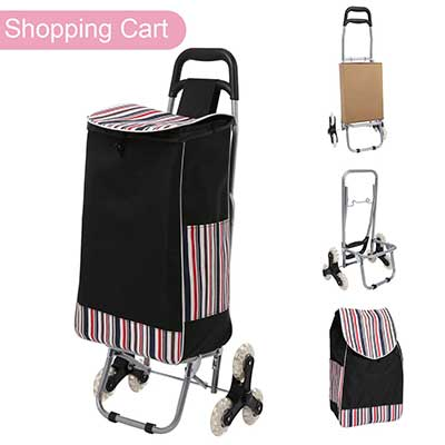 Folding Shopping Cart, Stair Climbing Cart