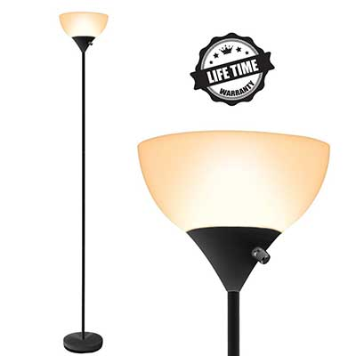 SUNLLIPE LED Floor Lamp, 70'' Modern 9W Energy Saving Lamp