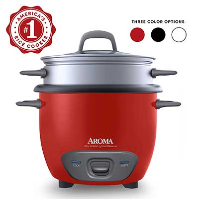 Aroma Housewares 6-Cup Pot Style Rice Cooker