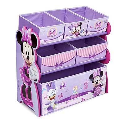 Delta Children 6-Bin Toy Storage Box
