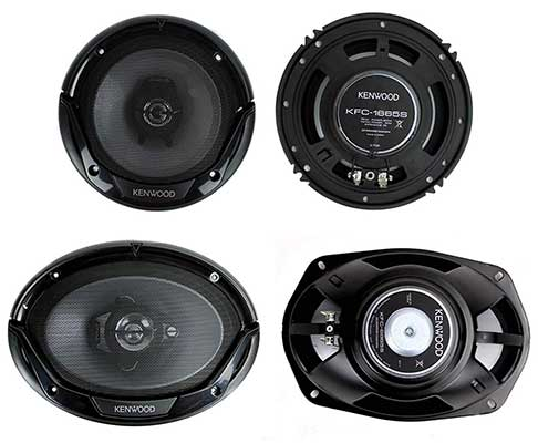 """Kenwood KFC-1665S + KFC 6.5"""" 300W Two-Way Plus Car Speakers"""