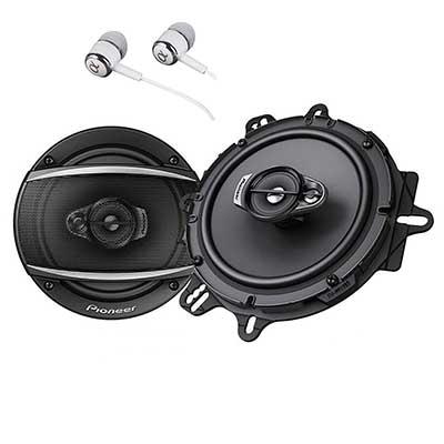 """PIONEER TS-A1670F Series 6.5"""" 320W Max3-Way Car Speakers"""
