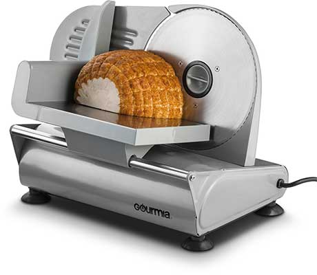 Gourmia GFS700 Professional Electric Powered Food & Meat Slicer