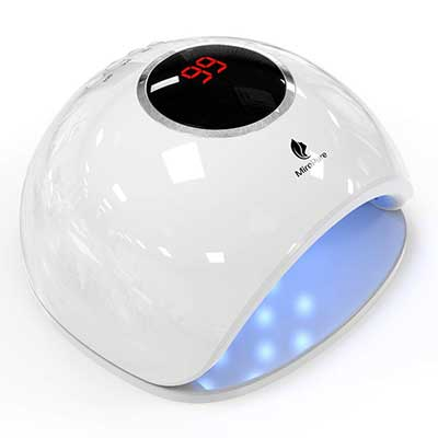 MiroPure UV LED Gel Nail Lamp Light, Dryer