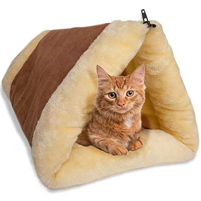 Paws & Pals Cat Bed Cave House Bed