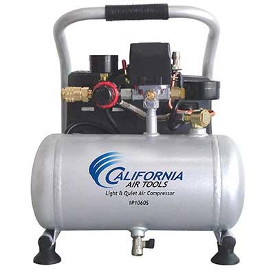 California Air Tools Light & Quiet Portable Air Compressor