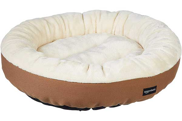 AmazonBasics 20'' Pet Bed for Cats or Small Dogs