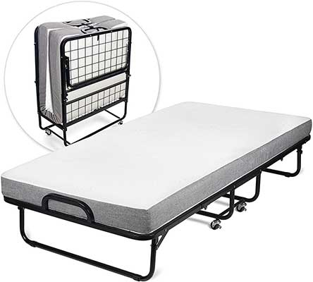 Milliard Diplomatic Folding Bed – Twin Size