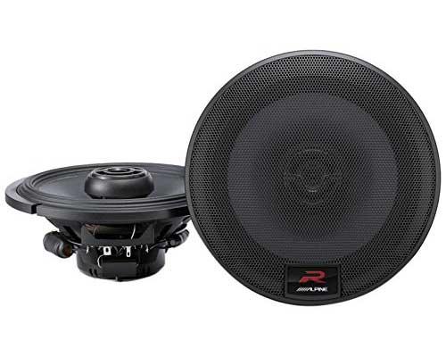 Alpine R-Series 6.5 Inch 300 Watt Coaxial 2-Way Car Audio Speaker