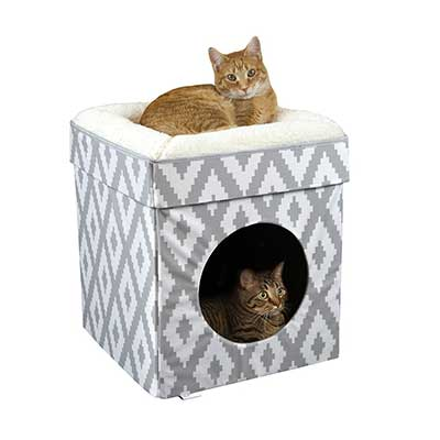 Kitty City Large Cat Stackable Cube Bed