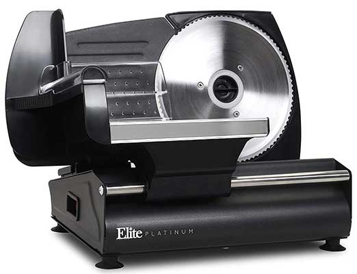 Elite Platinum EMT-625B Ultimate Precision Electric Dei Food Meat Slicer