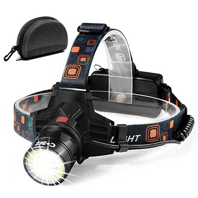 Cobiz High Lumen Led Headlamp Flashlight