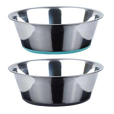 Peggy 11 No Spill Non-Skid Deep Dog Bowls