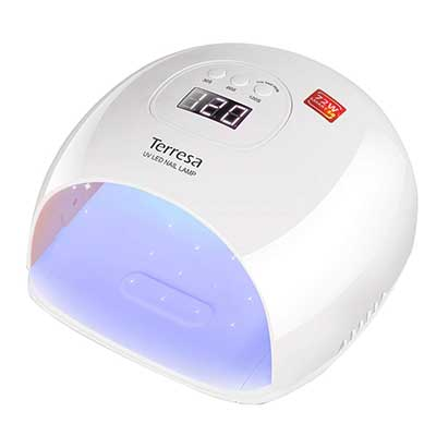 UV LED Nail Lamp Terressa 72 Watt Faster Nail Dryer