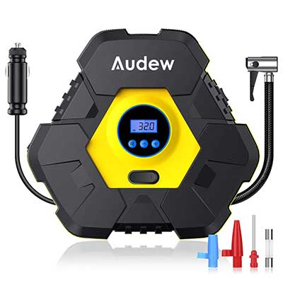 Audew Upgraded Portable Air Compressor