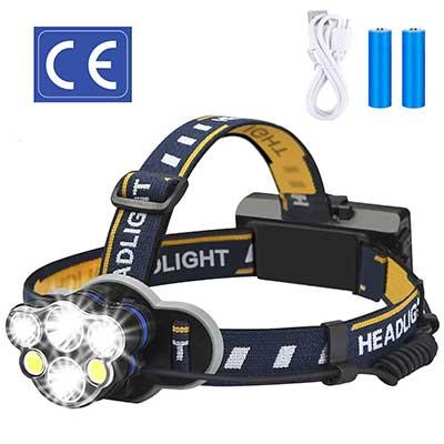 ELMCHEE Rechargeable Waterproof Rechargeable headlamp