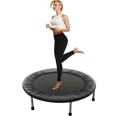 Balanu 40-Inch Mini Exercise Trampoline for Adults and Kids